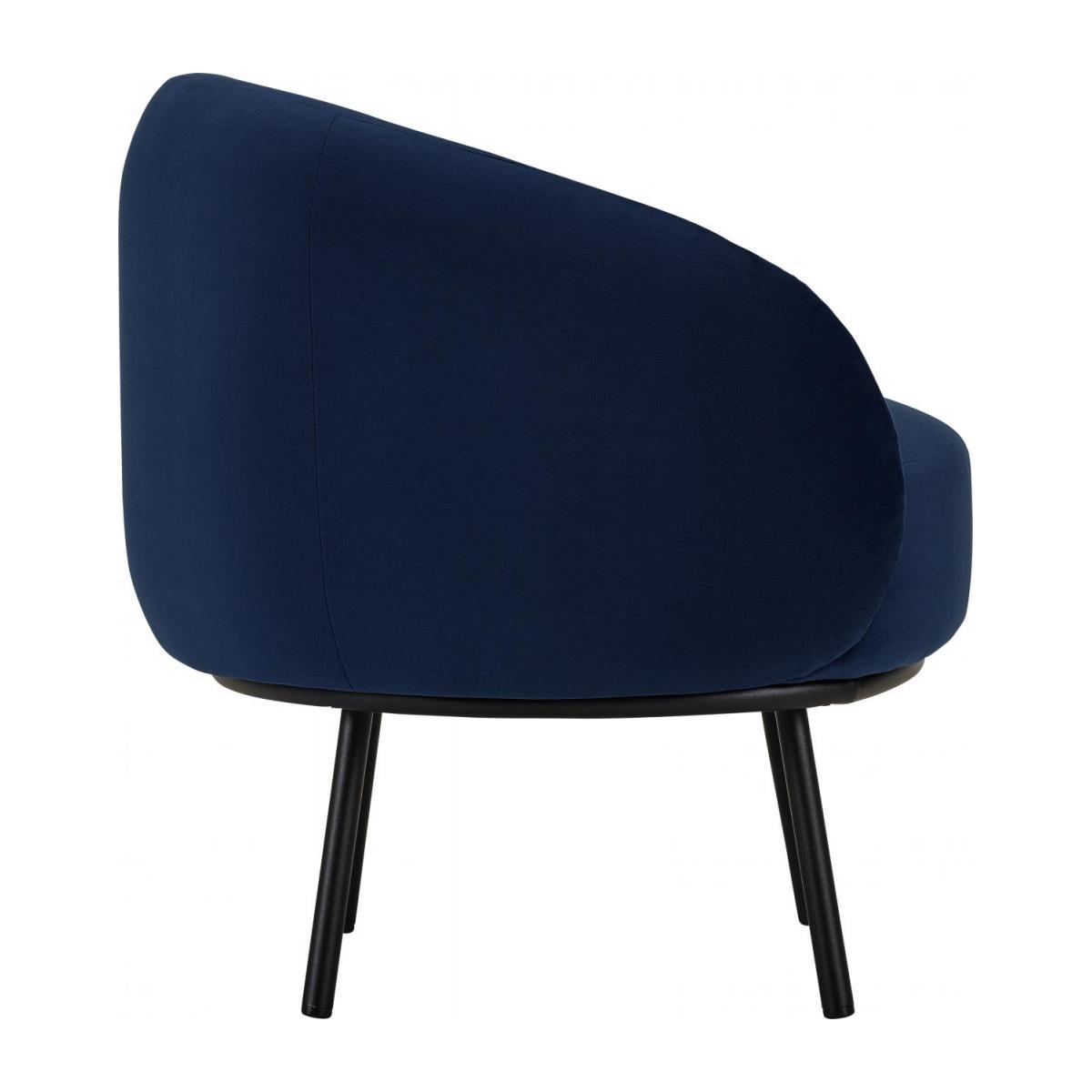 Sessel aus Samt - Blau - Design by Adrien Carvès n°5