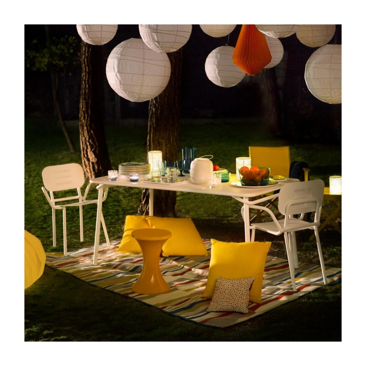 Garden chair with armrests n°11