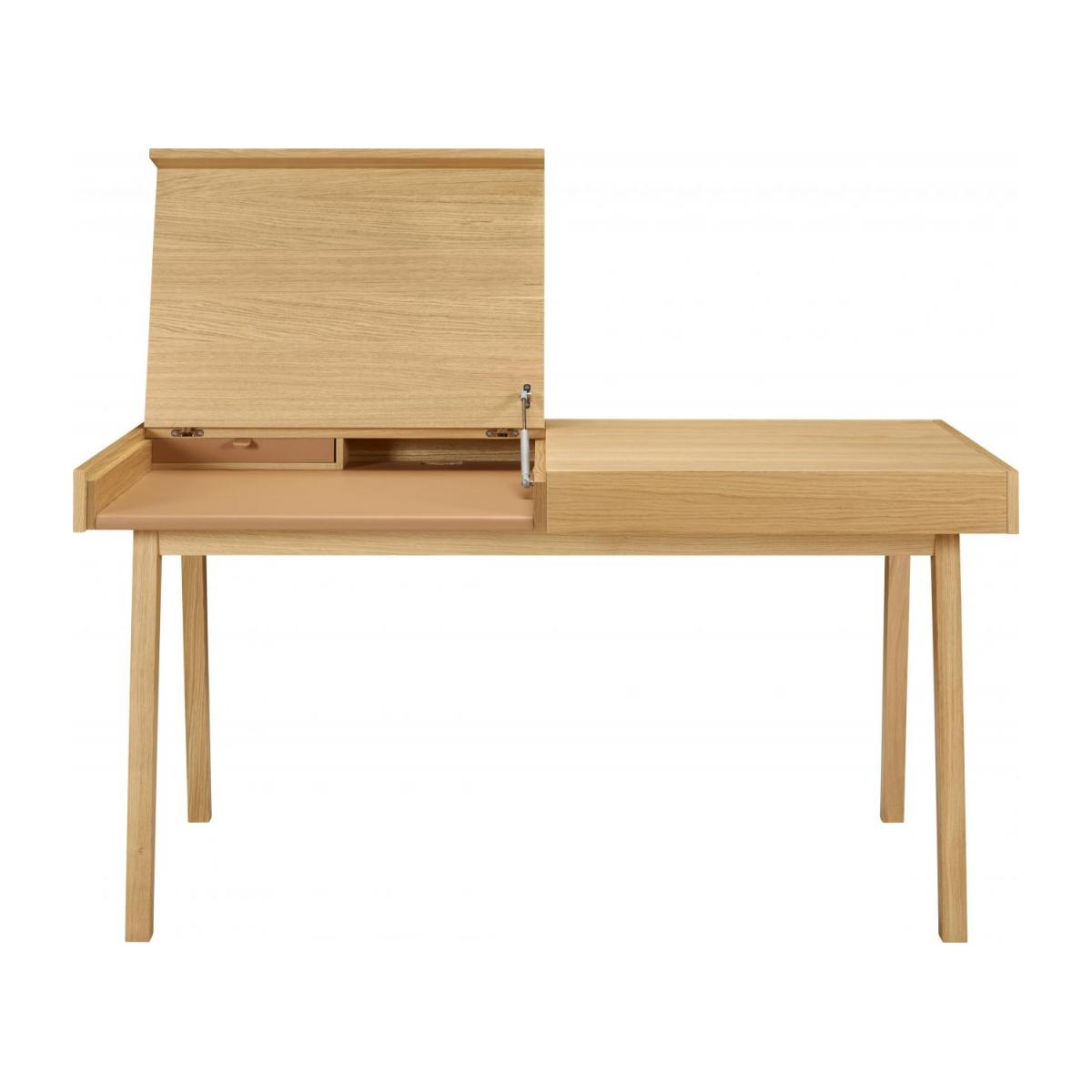 Big oak desk n°5