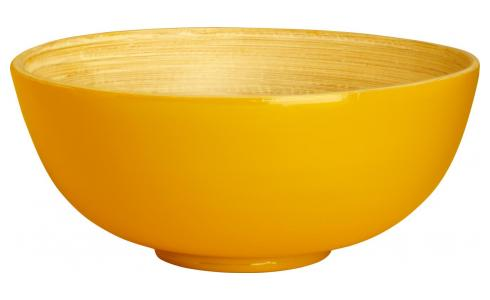Bol 15 cm - Bambou - Jaune Moutarde