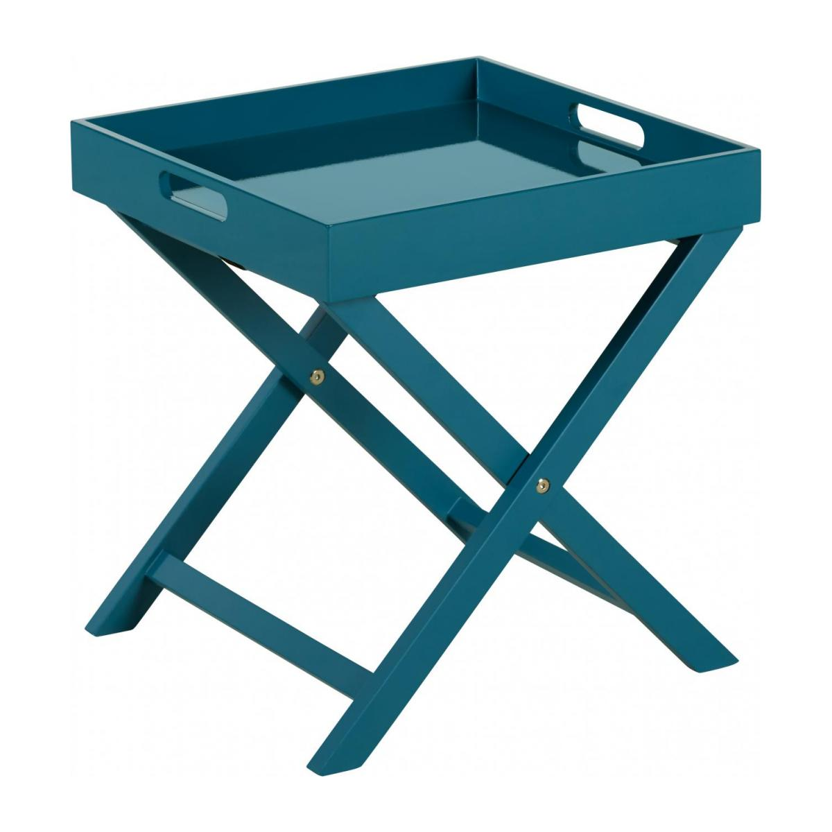 Table d'appoint - Bleu n°1