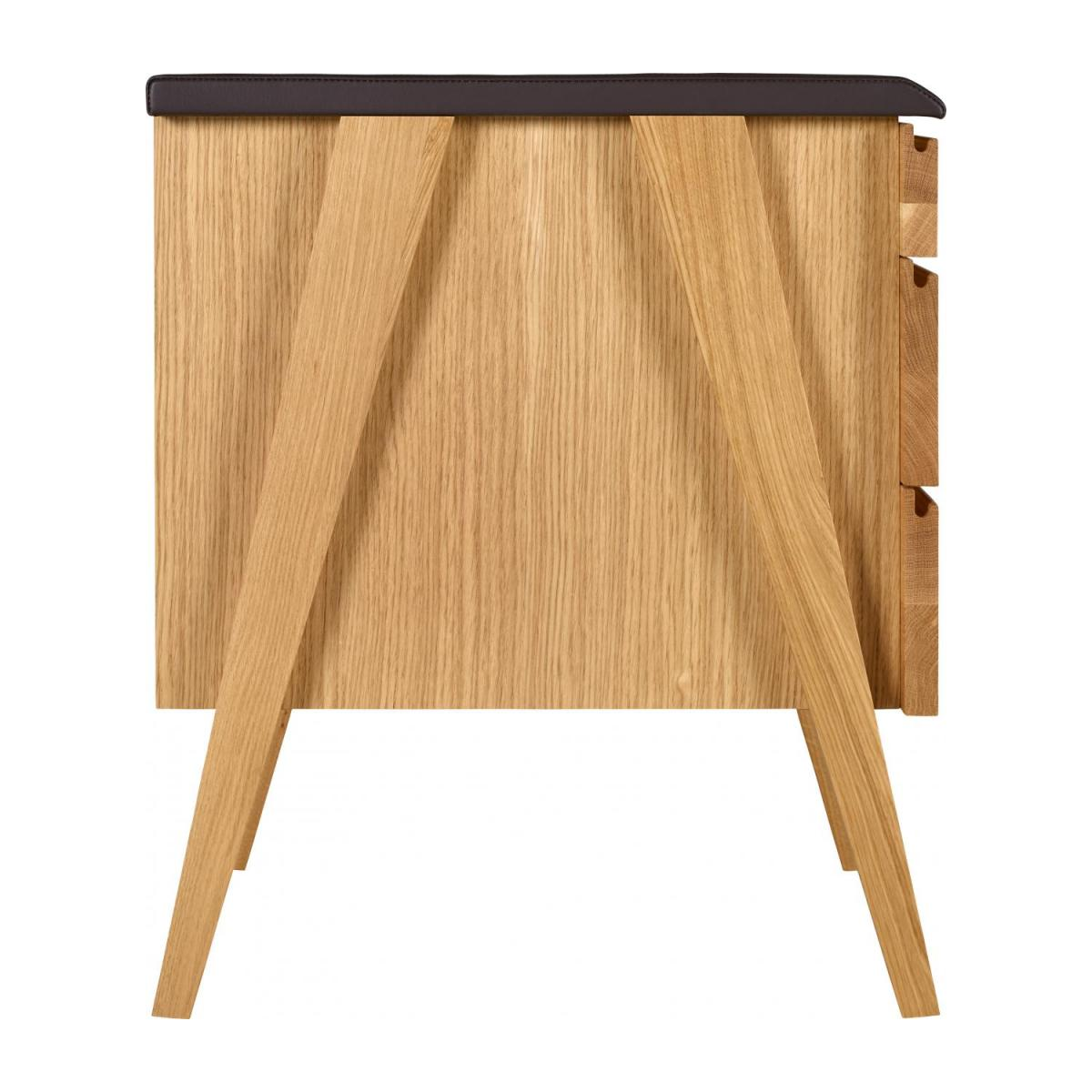 Cajonera de oficina - Roble- design by Habitat Design Studio n°5
