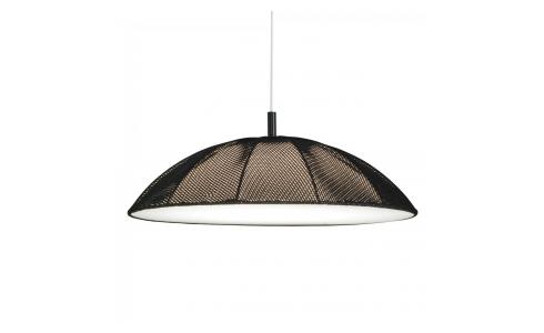 Suspension Studio en coton noir
