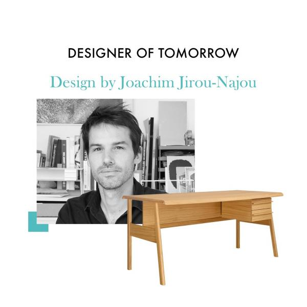 Big oak desk - Design by Joachim Jirou Najou n°6