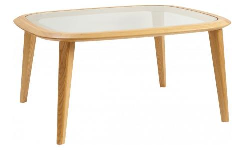 Table basse - Chêne et Verre - Design by Habitat Design Studio