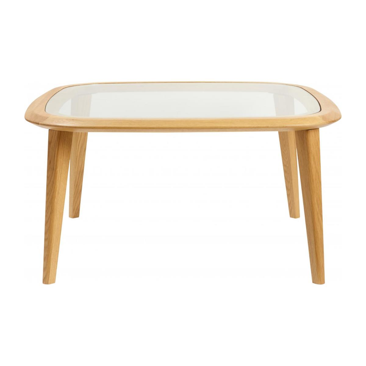 Table basse - Chêne et Verre - Design by Habitat Design Studio n°3