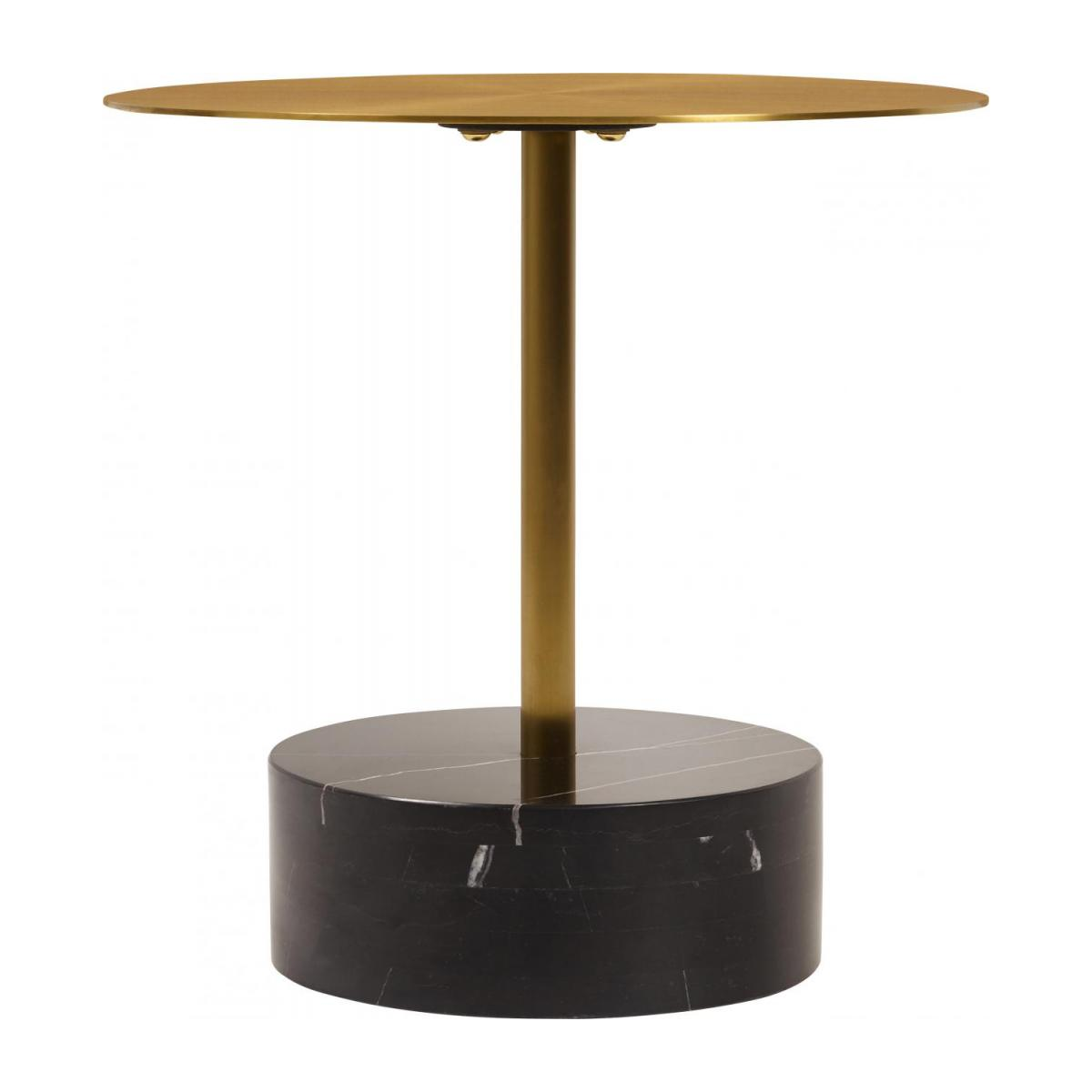 Table D Appoint Marbre.Table D Appoint Ronde Marbre Dore