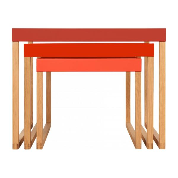 KILO/NESTED TABLE RED SS18 n°4
