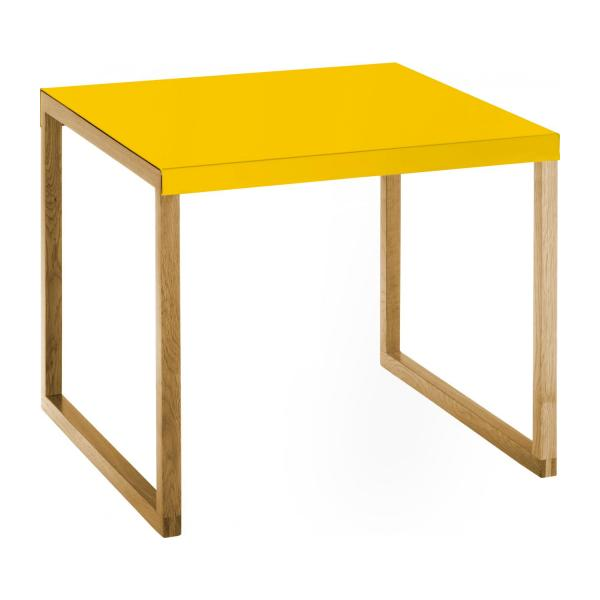 KILO/TABLE D'APPOINT MOUTARDE n°1