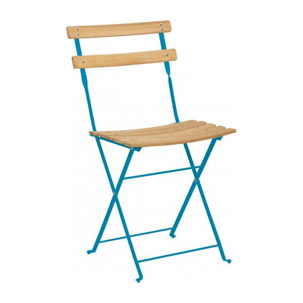 Foldable Garden Chair Blue n°1