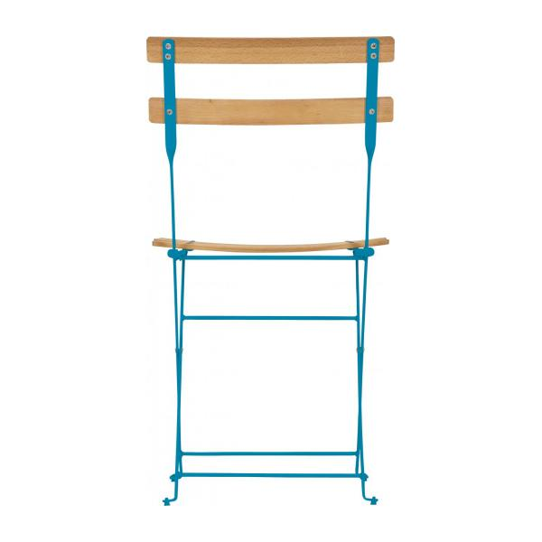 Foldable Garden Chair Blue n°5