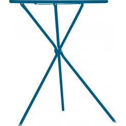 Table pliante bleue