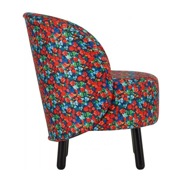 Sessel aus Samt - Muster Marjolaine - Design by Floriane Jacques n°4