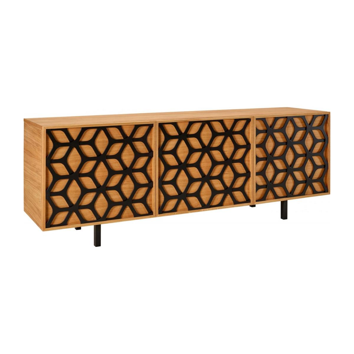 Buffet motif nid d'abeille - Chêne - Design by Habitat Design Studio n°1