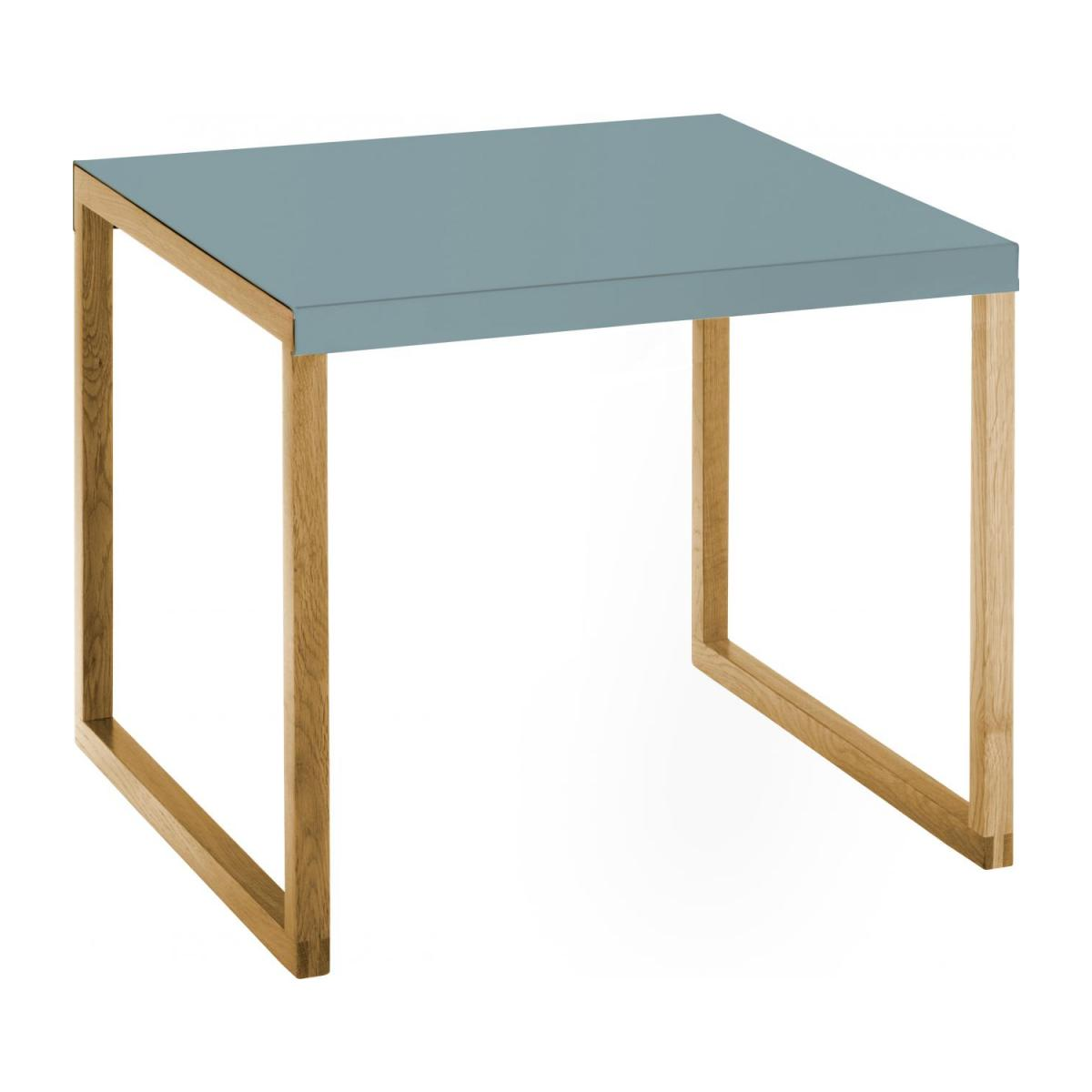 Table d'appoint - Bleu orage n°1