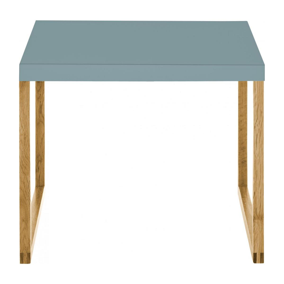 Table d'appoint - Bleu orage n°3