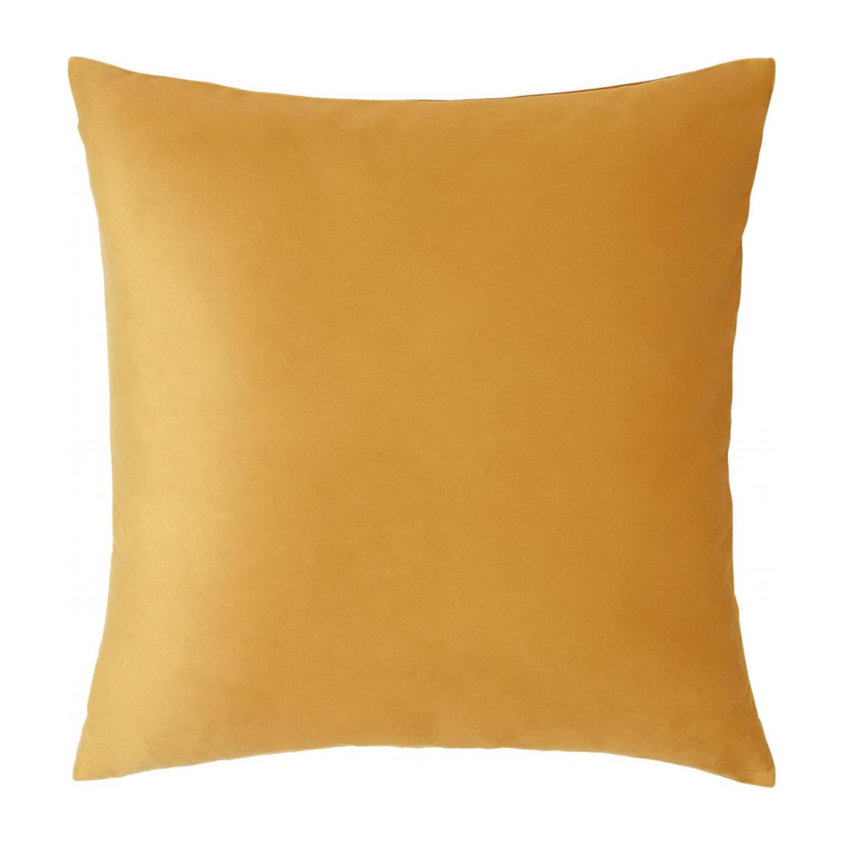 Coussin - Patchwork - Jaune - design by Floriane Jacques n°3