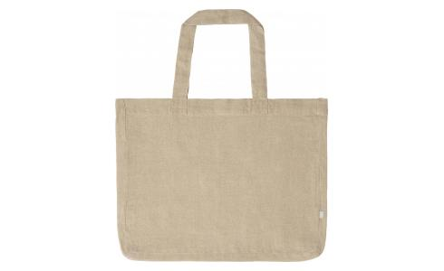 Grand sac de shopping en lin naturel