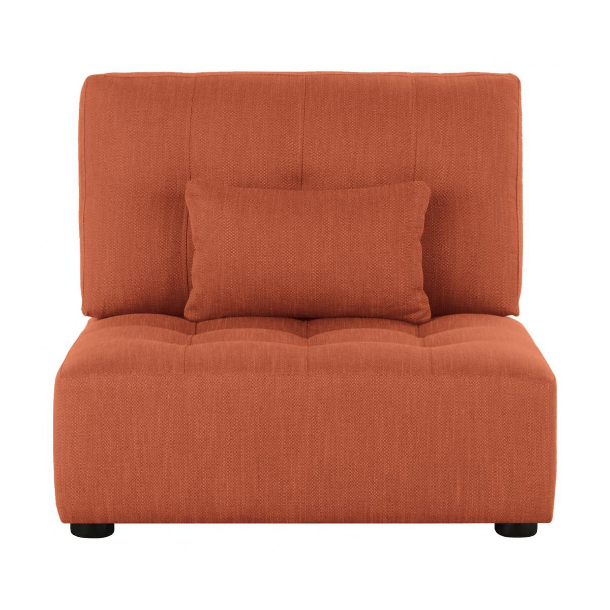 Sitzelement aus Stoff, orange n°2