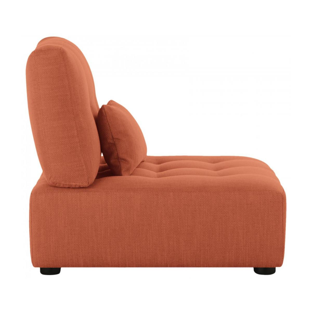 Sitzelement aus Stoff, orange n°3