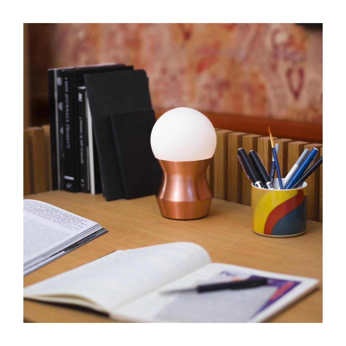 Mini table lamp, copper n°2