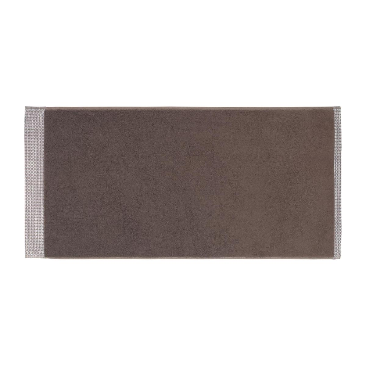 Serviette de toilette - 50x100cm- Marron n°2