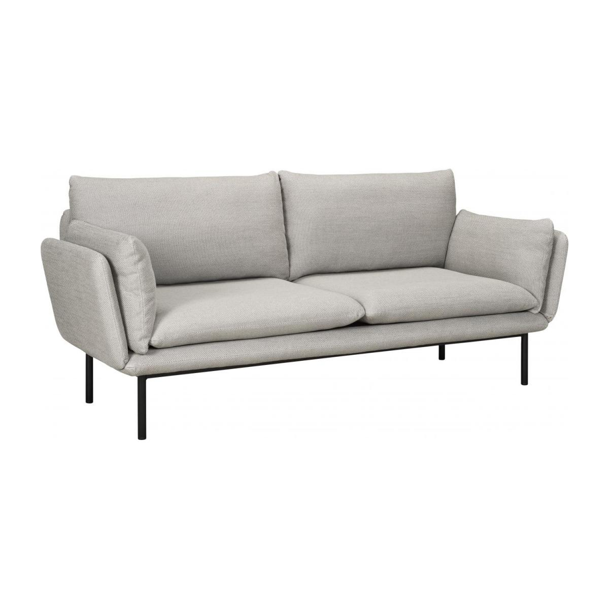 riva 3 sitzer sofa aus stoff grau habitat. Black Bedroom Furniture Sets. Home Design Ideas
