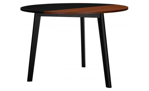 Table avec plateau bicolore pliant en noyer - Design by Gonçalo Campos