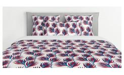 Duvet cover made of cotton 260x240cm, with patterns