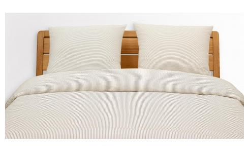 Washed Cotton Bed Set 240x200cm + 2 Pillow Cases 65x65cm