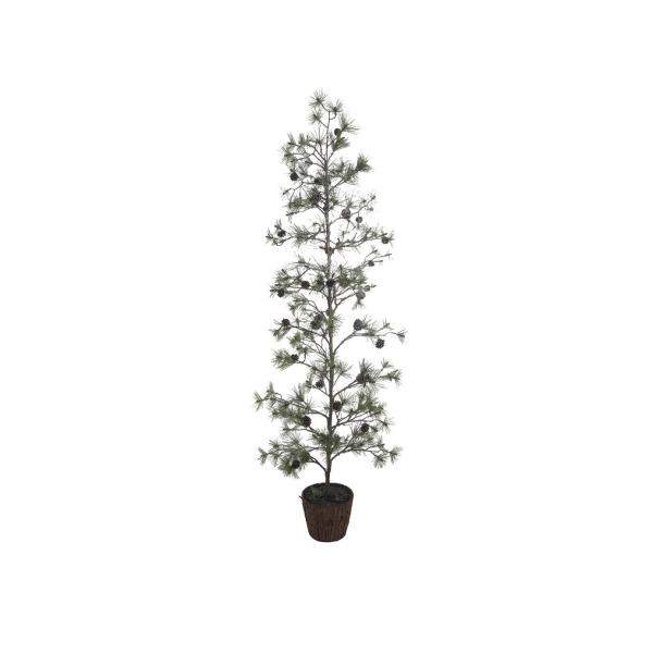 Pin artificiel en pot 210cm vert