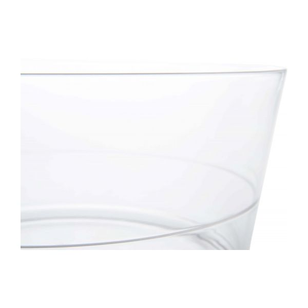 Transparent acrylic salad bowl n°3