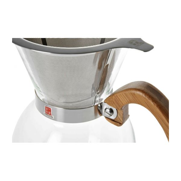 400 ml glass coffee maker n°7
