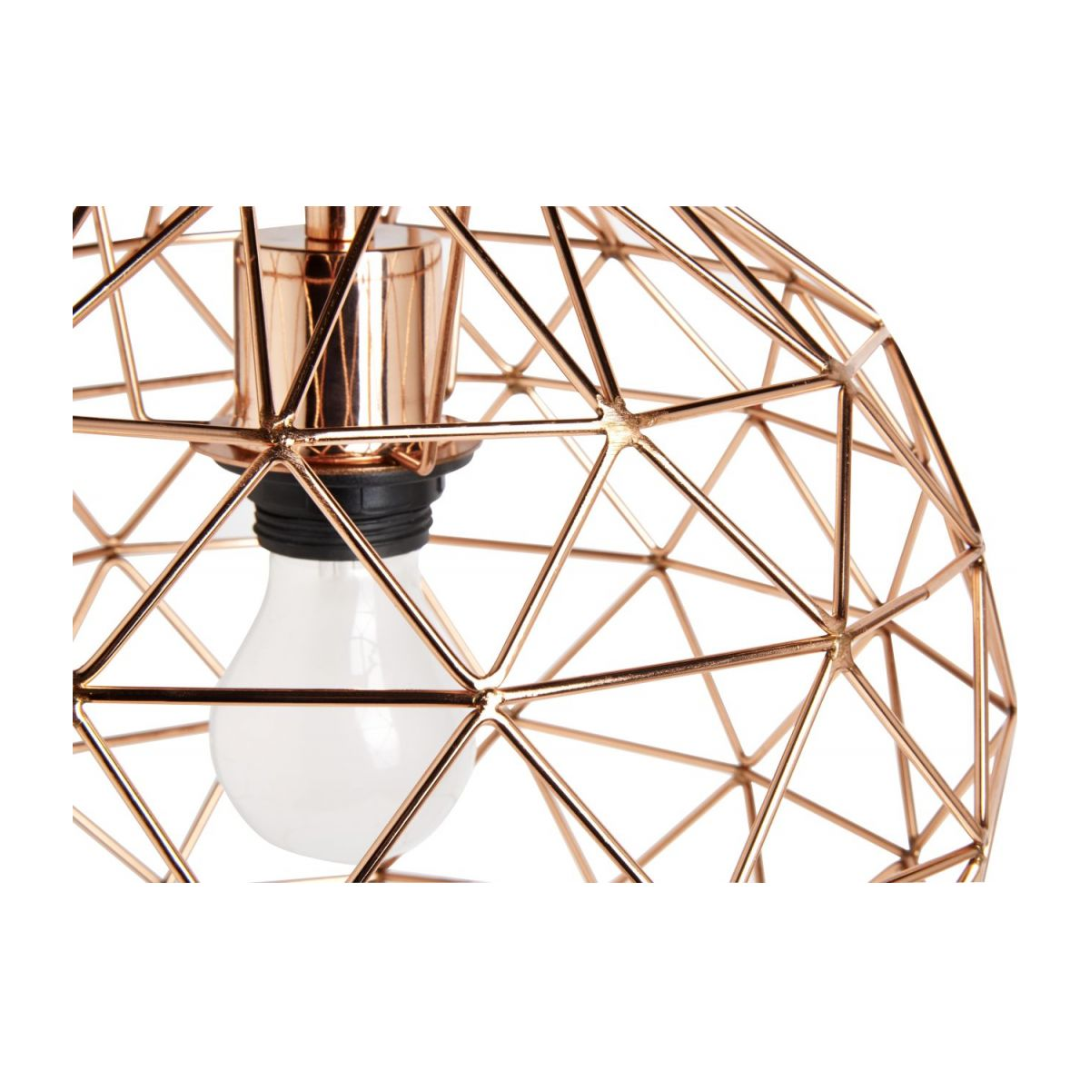 Copper ceiling light  n°4