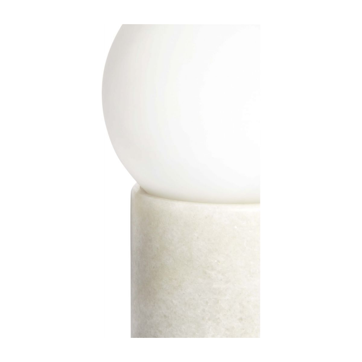White table lamp n°6