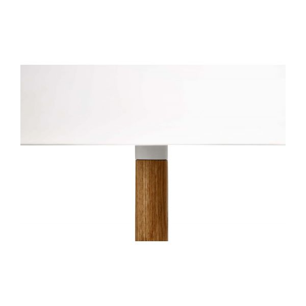 White table lamp  n°7