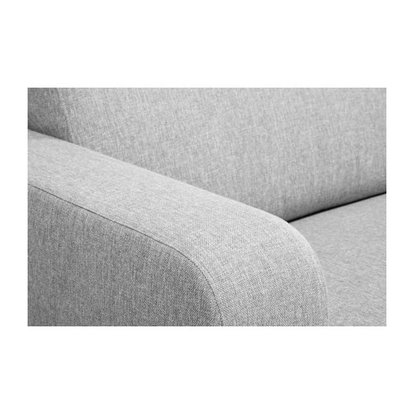 2-seater fabric sofa-bed n°12