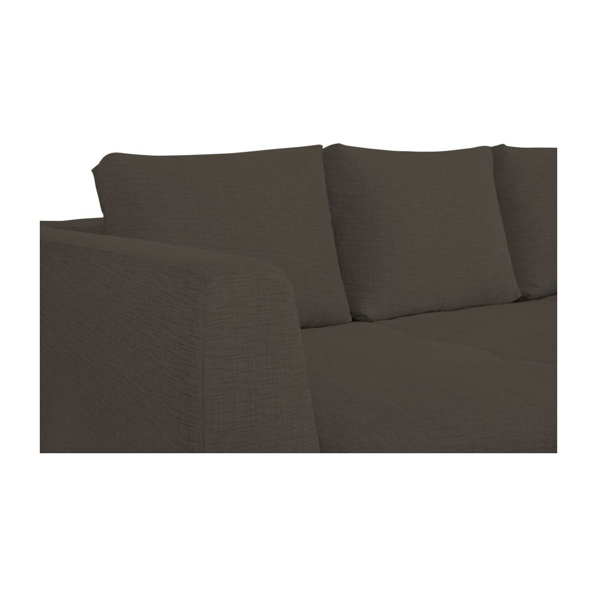 3 seater sofa in Ancio fabric, river rock n°8