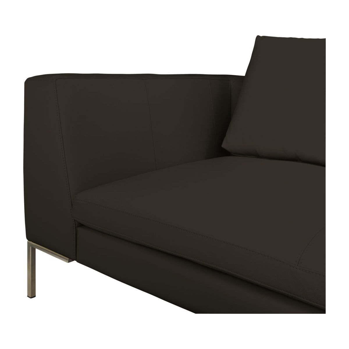 montino 3 sitzer sofa aus eton leder braun habitat. Black Bedroom Furniture Sets. Home Design Ideas