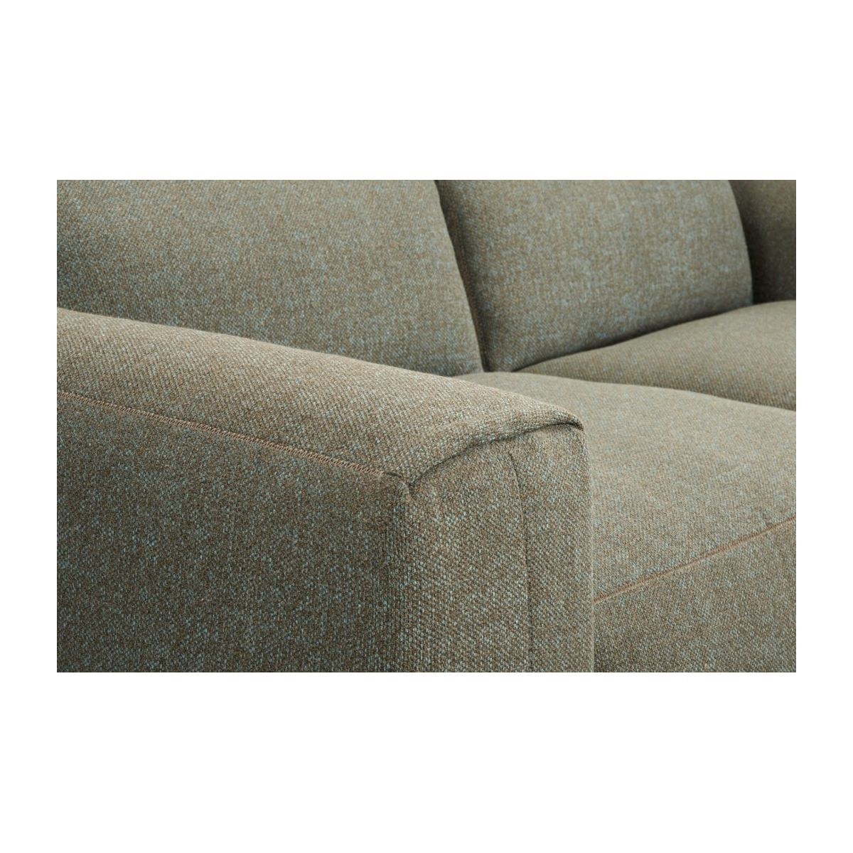 3 seater sofa in Lecce fabric, slade grey n°6