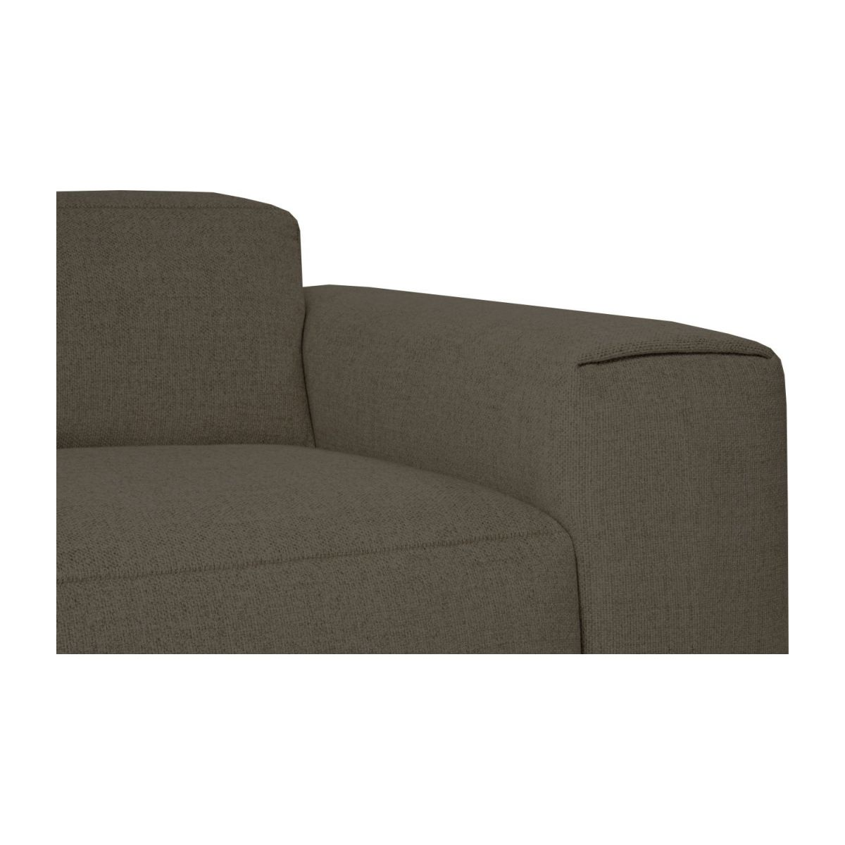 2 seater sofa in Lecce fabric, muscat n°5