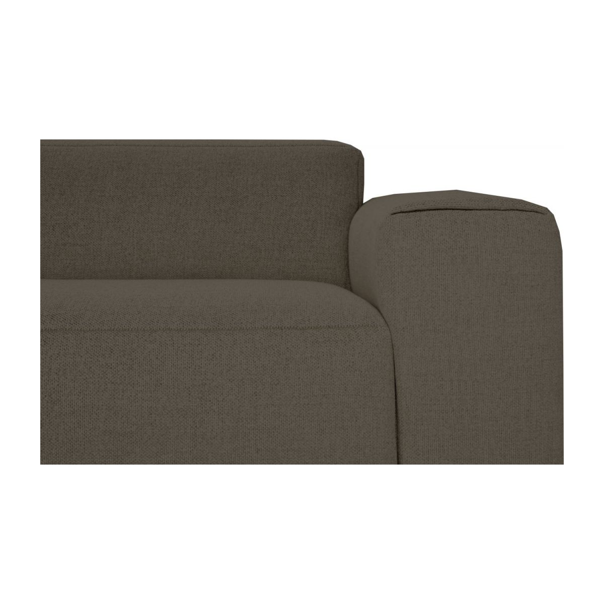 2 seater sofa in Lecce fabric, muscat n°4