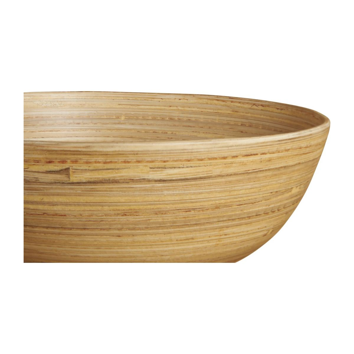 Grand bol 20 cm en bois naturel n°3