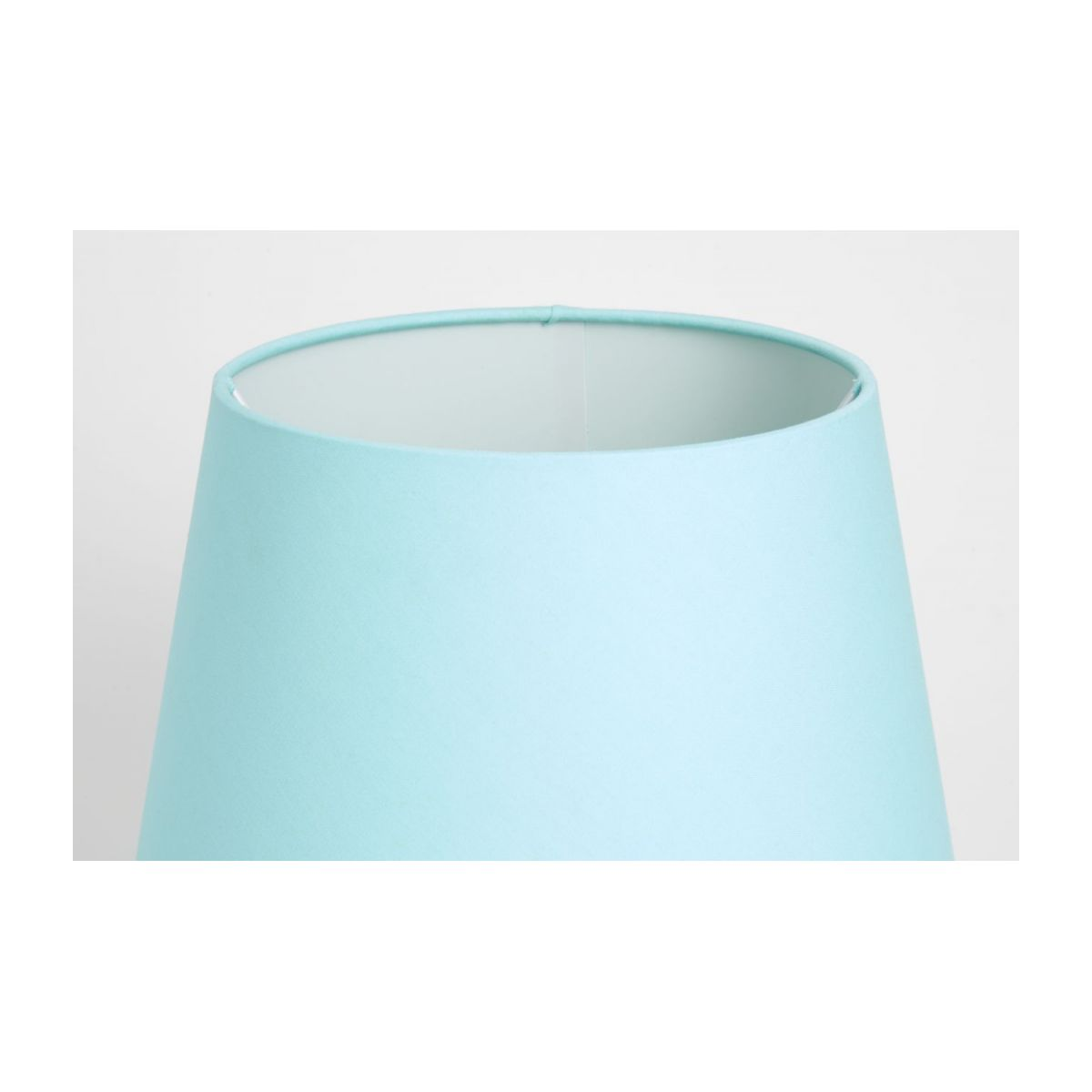 Large blue lampshade n°4