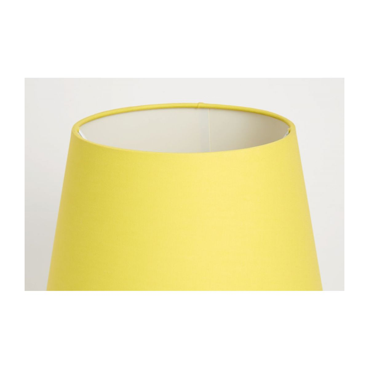 Large yellow lampshade n°4