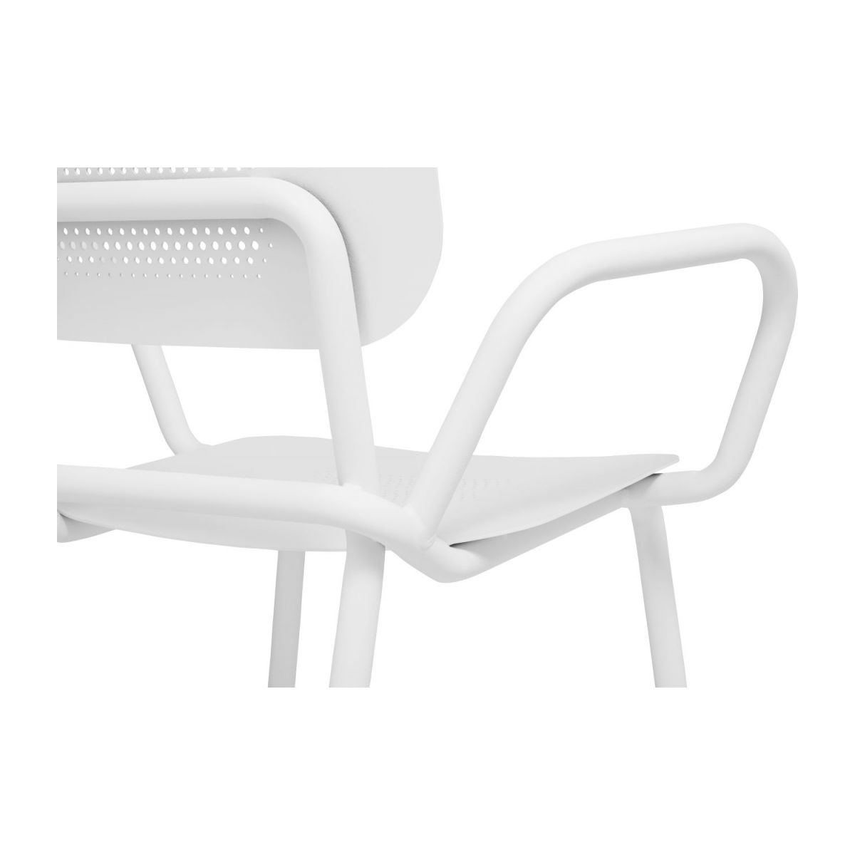 Garden chair with armrests n°9