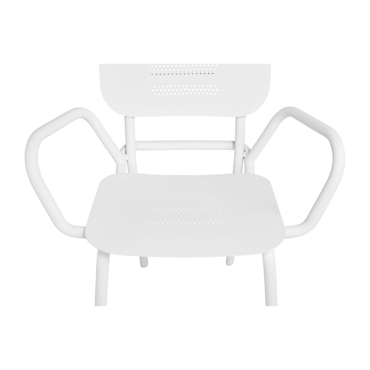 Garden chair with armrests n°8