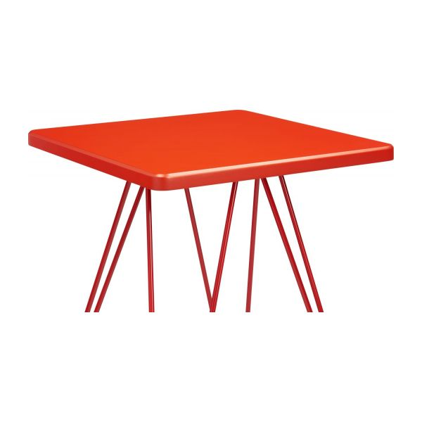 Low table, red n°3