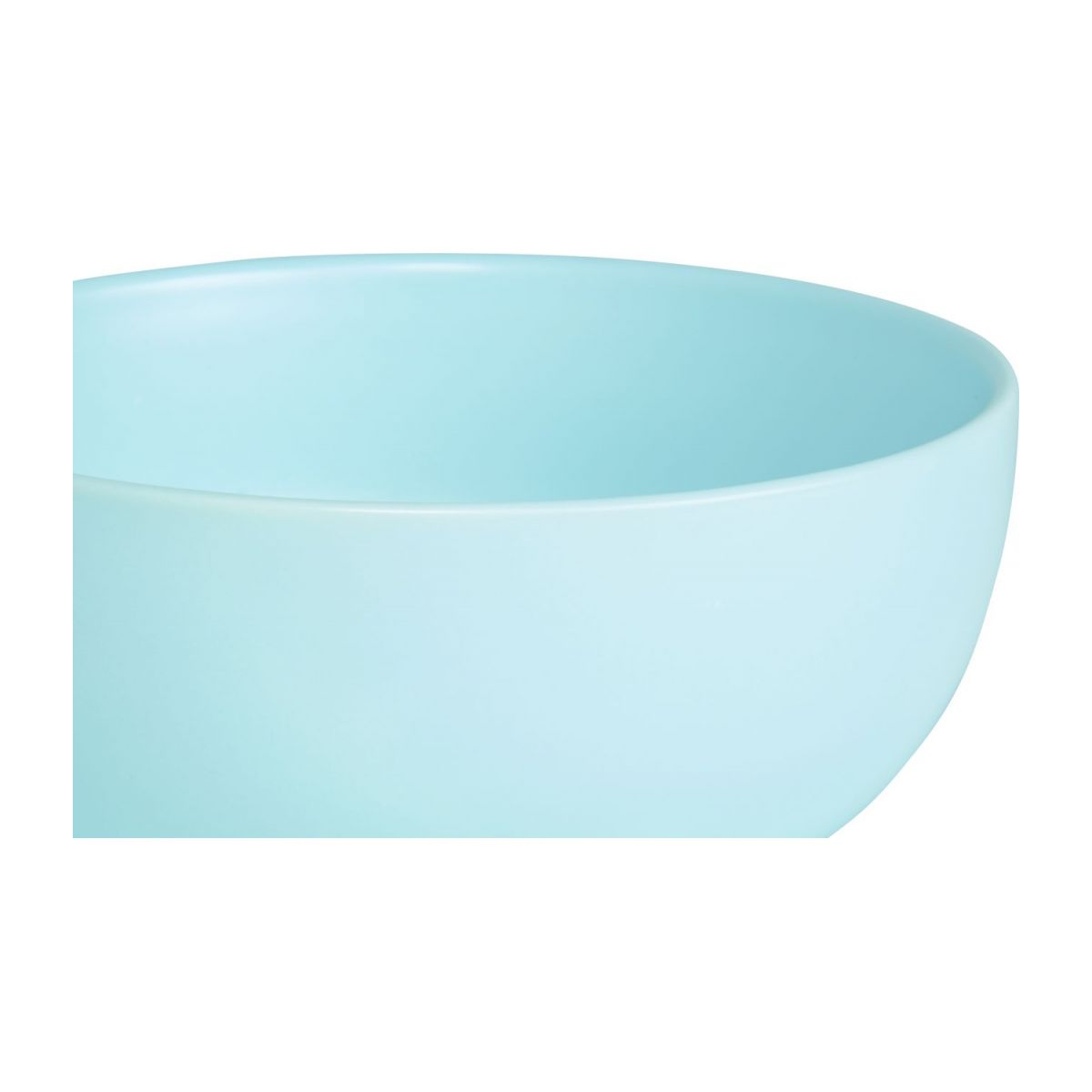 Bowl in standstone 14cm, blue n°2