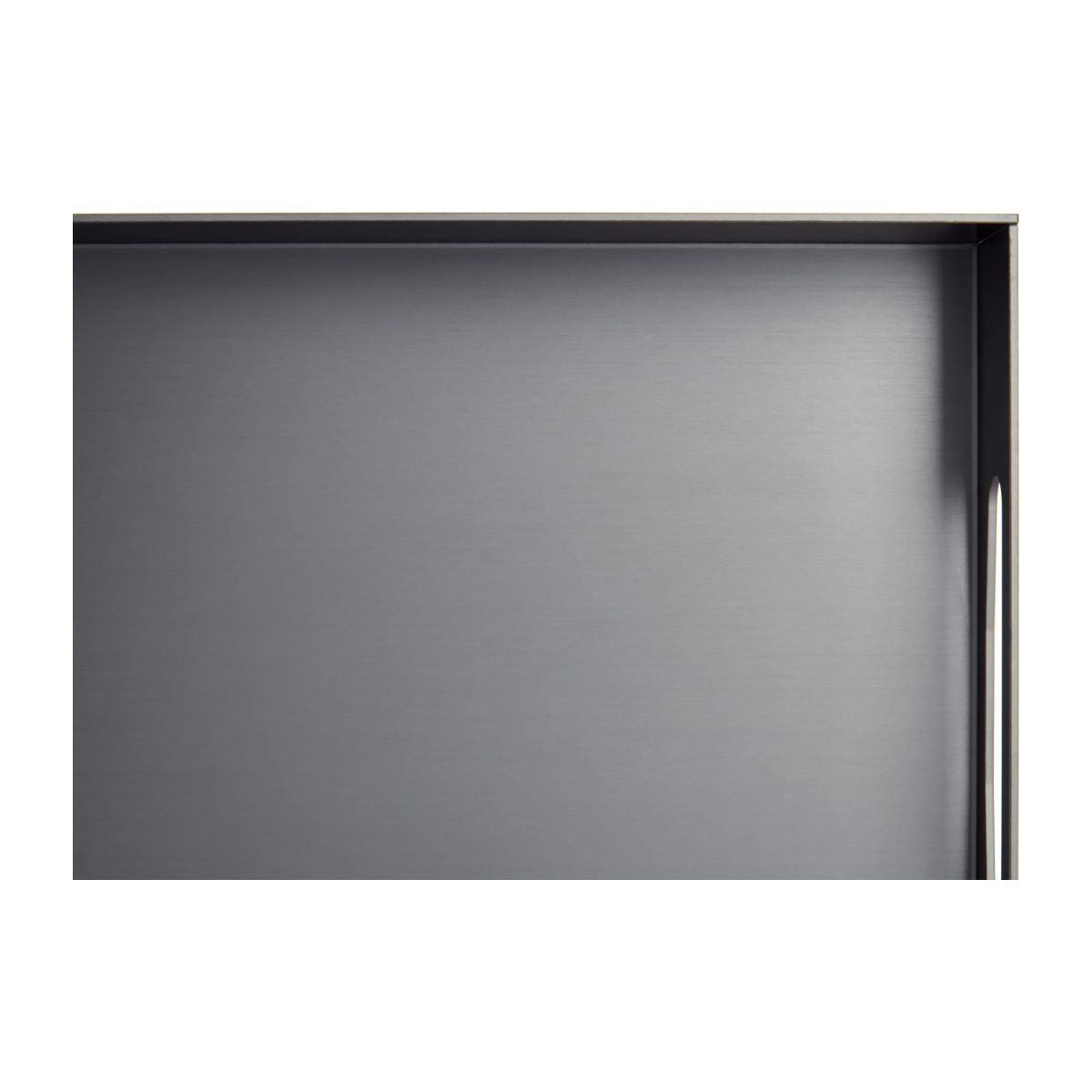 Tray in aluminium 40x25cm, black n°4
